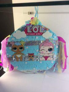 piñatas para fiesta de cumpleaños lol surprise
