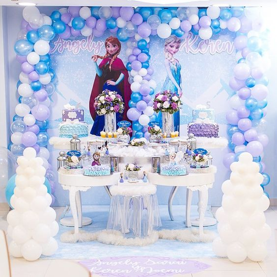 Temas de Fiesta para niña de Frozen