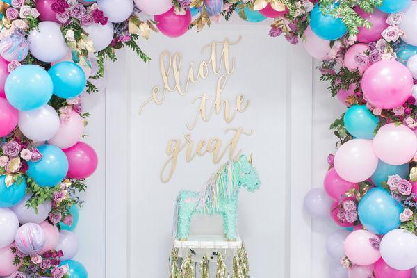 Temas para Fiestas para Niña de Unicornio