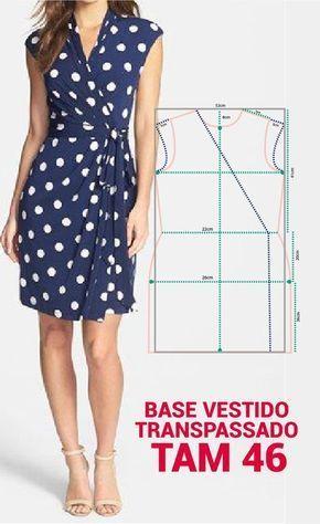 Patrones para Vestidos de moda 2018 - 2019