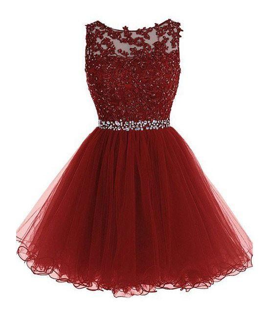 498949da9 Vestidos de quinceañera cortos - Ideas Bonitas Para