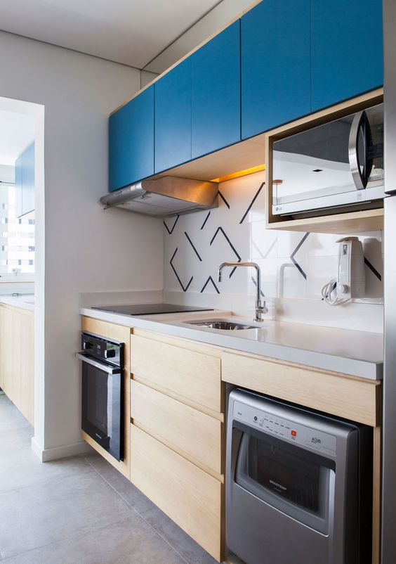 combinaciones de colores para pintar una cocina moderna