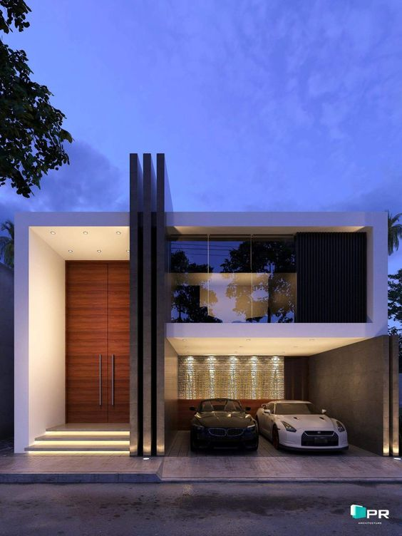 Fachadas De Casas Modernas De Dos Pisos Ideas Bonitas Para