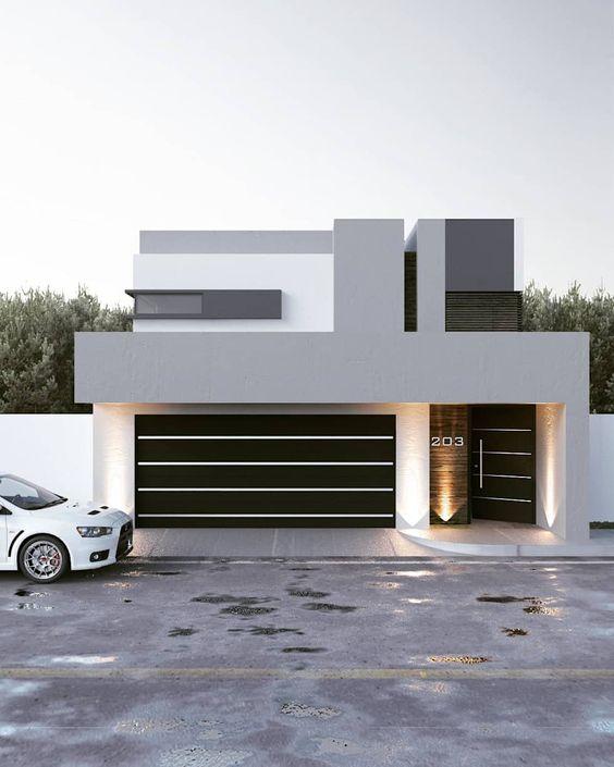 Fachadas De Casas Modernas De Un Piso 2019 Ideas Bonitas Para