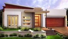 fachadas de casas modernas deun piso 2019