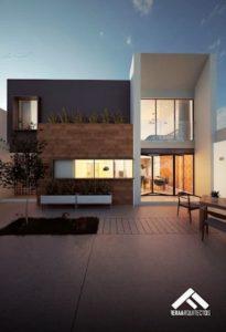 fachadas de casas modernasen españa
