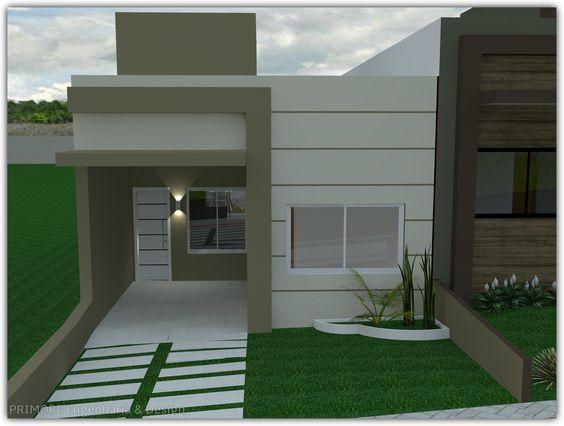 fachadas de casas modernaspequeñas