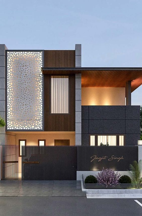 fachadas de casas modernas segun el pais