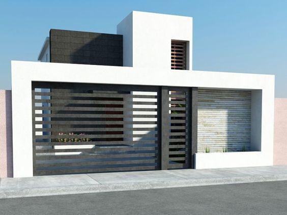 Fachadas de casas sencillas ideas bonitas para for Fachadas de casas modernas wikipedia