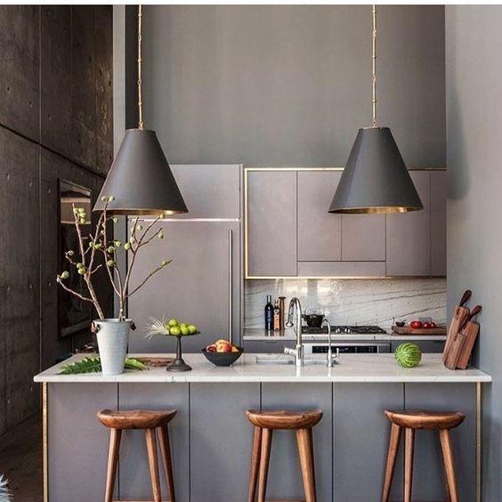 gamas de colores ideales para cocinas pequeñas