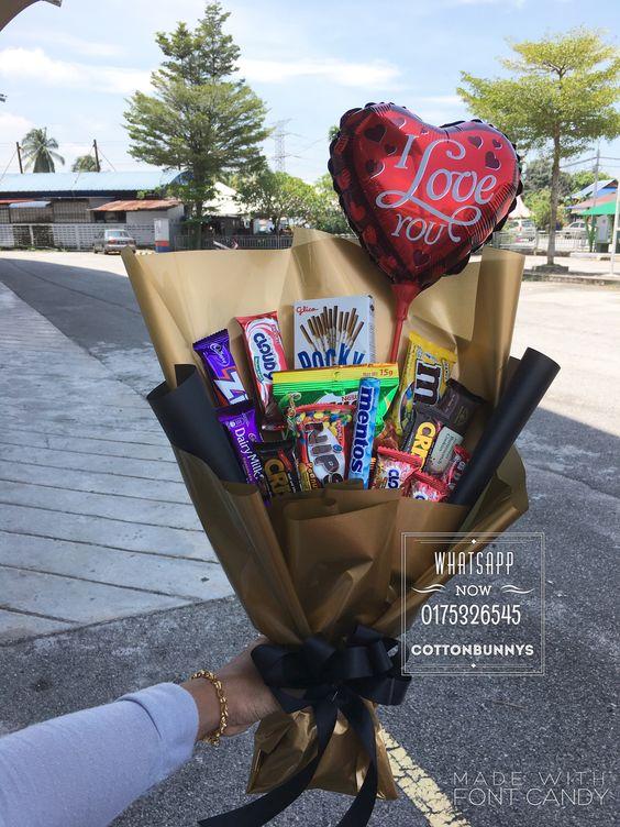 manualidades para el 14 de febrero para vender con chocolates