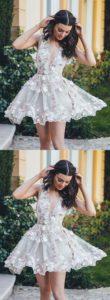 vestidos de 15 cortos 2019 con bordado