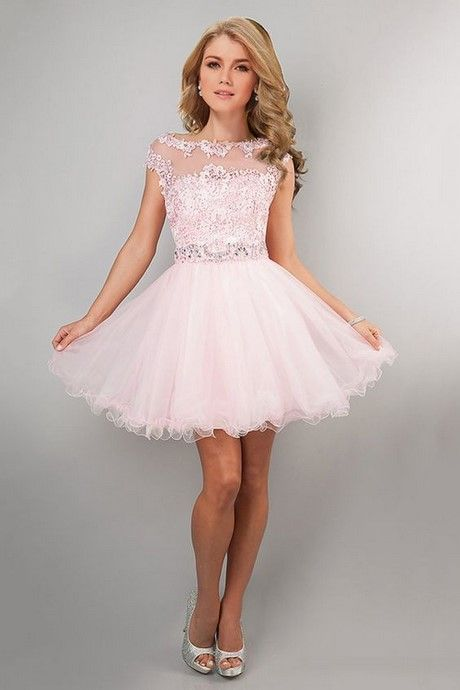vestidos de 15 sencillos y cortos tipo tutu
