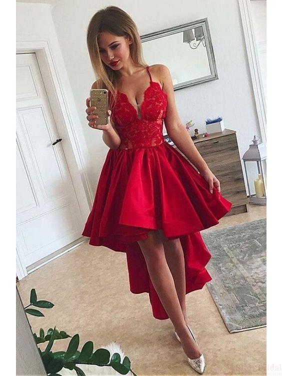 Tendencias De Vestidos Rojos Para Lucir En Eventos Formales