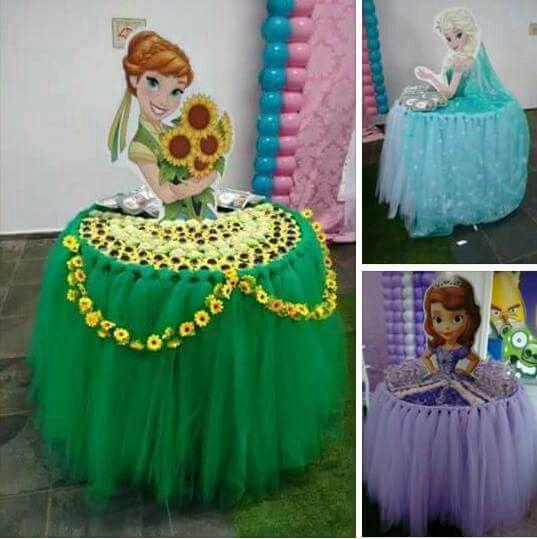 curso - taller de como hacer mesa de princesa