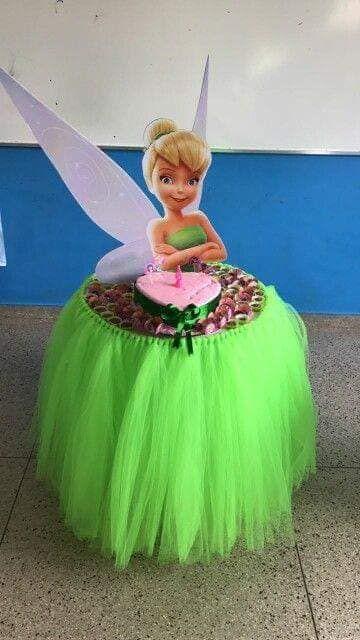 curso - taller de como hacer mesa de princesa campanita
