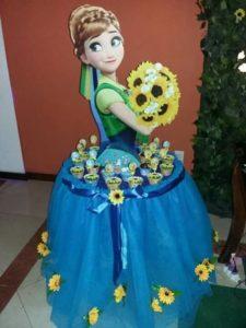 curso - taller de como hacer mesa de princesa elsa