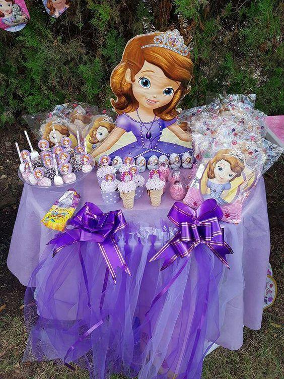 curso - taller de como hacer mesa de princesa sofia