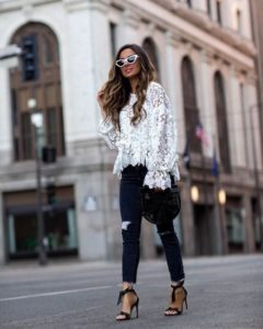 ideas para look casual usando zapato flat o zapato de tacon 2019