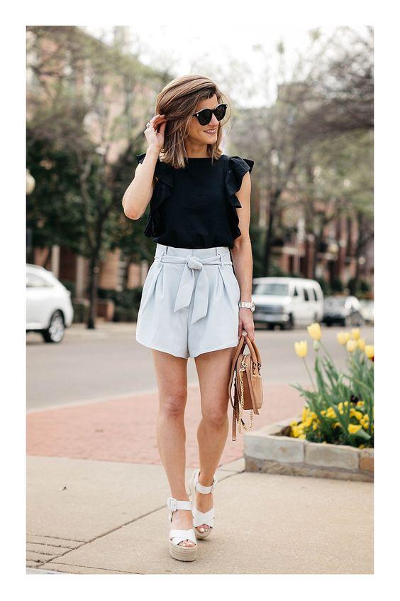 looks con shorts 2019
