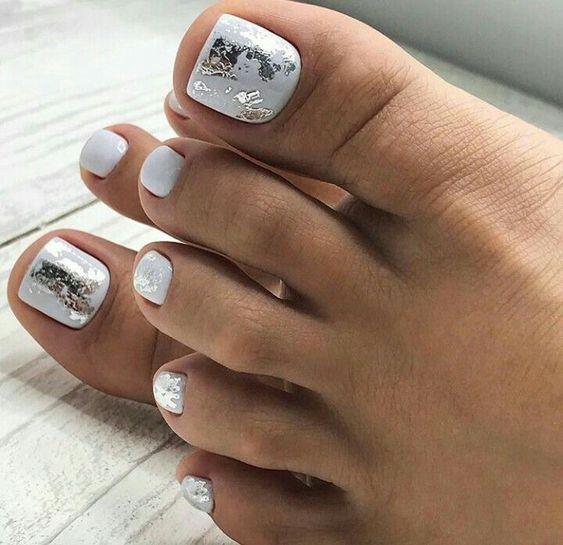 pedicure y diseños para uñas pies de mod