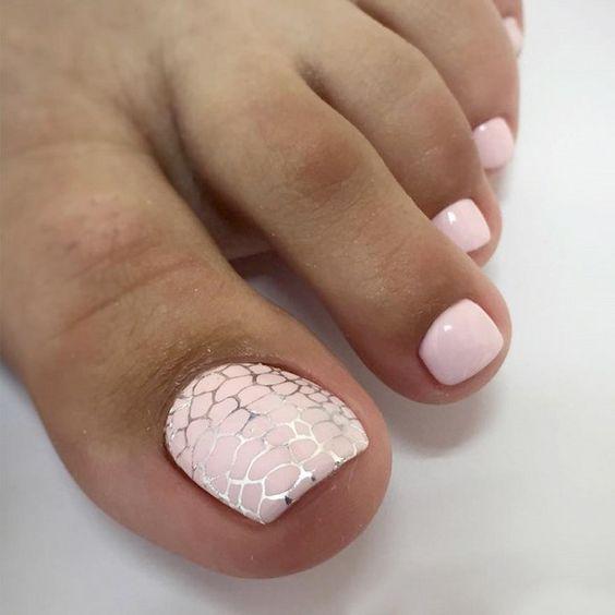 pedicure y diseños para uñas pies de moda