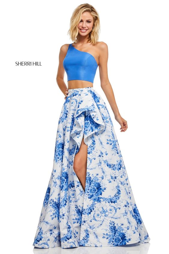 Tendencias en vestidos tono royal blue - tipo talavera