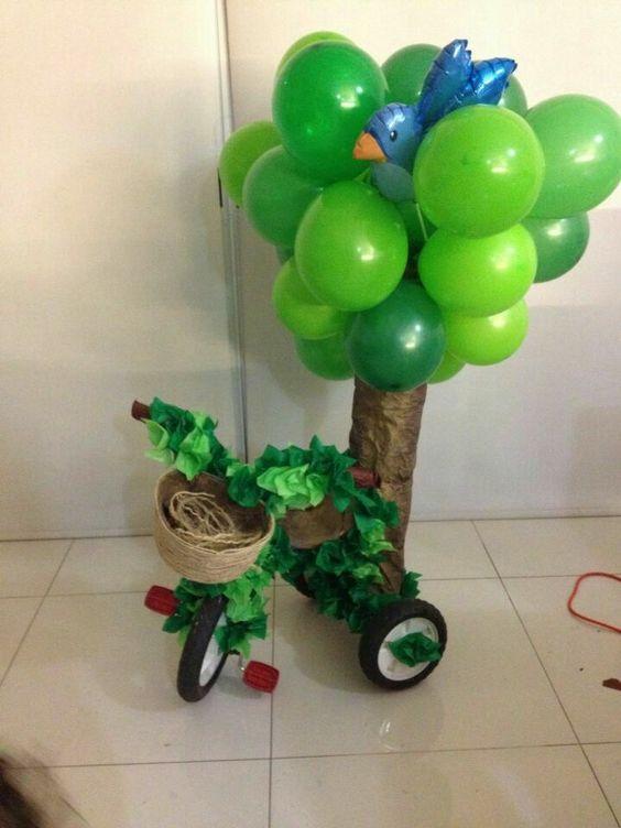 triciclos decorados para niños