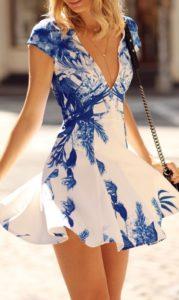 vestidos cortos royal blue - tipo talabera