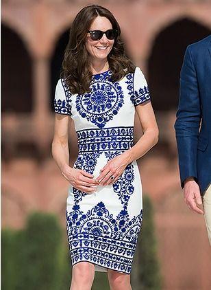 vestidos para coctel royal blue - tipo talavera