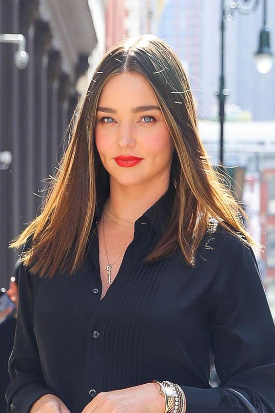 Corte de cabello corto y recto para primavera - verano 2019