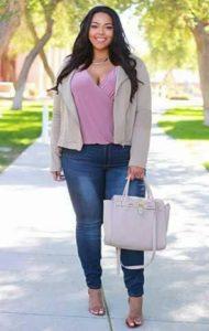 outfits con estilo para chicas con curva modernos
