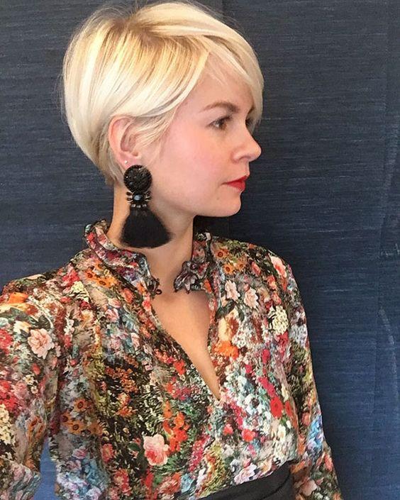 Pixie para darle un look chic a la cabellera de las mujeres 2019