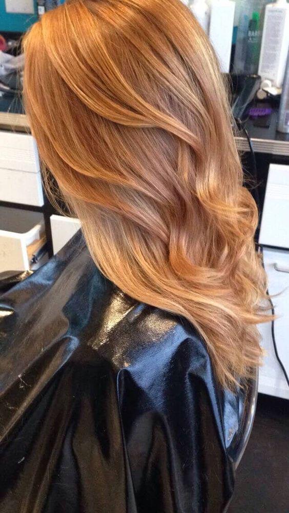 Rubio hielo para darle color al cabello este 2019