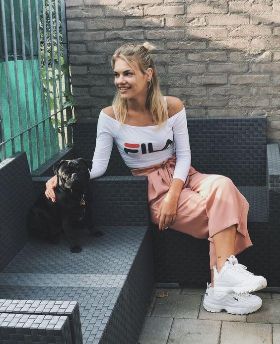 Spring sneakers fila 2019 con faldas