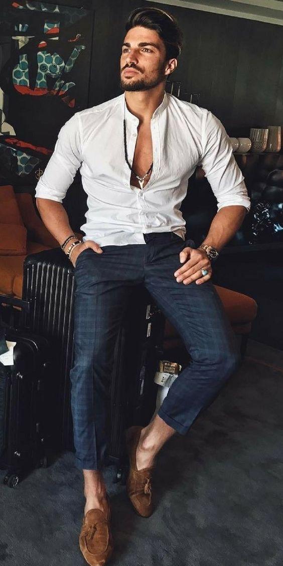 Tendencia verano 2019 hombre formal