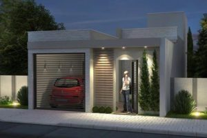 casa de infonavit con porton que te inspirara a construir la tuya