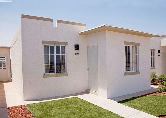 casa sencilla pequeña con dos habitaciones en el diseño