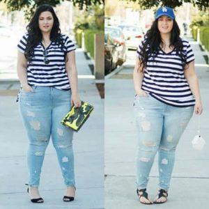 outfits con estilo para chicas con curva