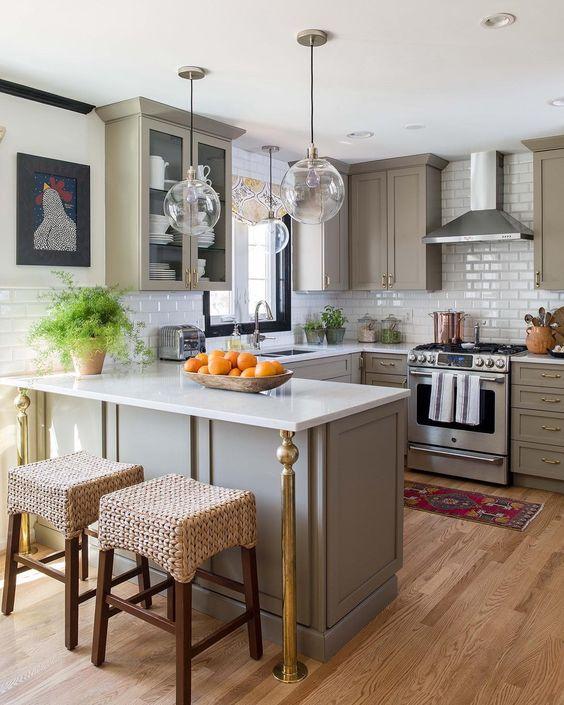 Cocina americana 2019 de 70 fotos tendencias en dise o - Fotos de cocinas americanas ...