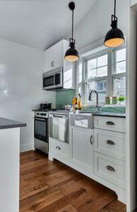 Cocinas americanas en espacios pequeños
