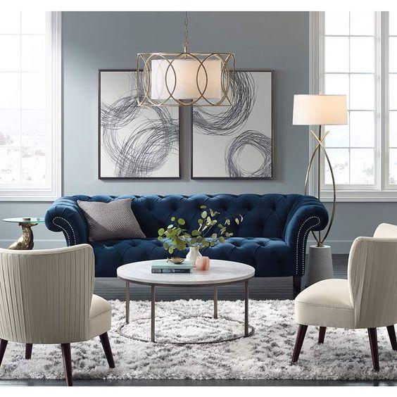 Cómo Decorar Una Sala 50 Imágenes Y Consejos Tendencias 2019