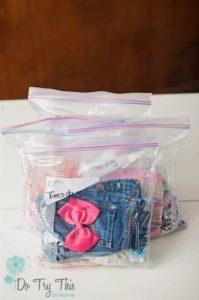 Como organizar la ropa de los niños cuando van a guardería