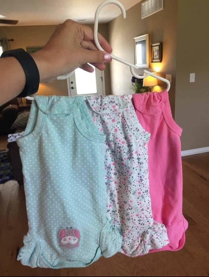 Como organizar los mamelucos del bebe