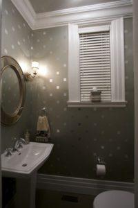 Papel metálico decoracion para baños Home depot