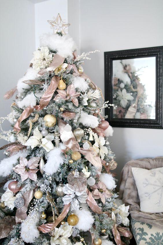 Árbol de navidad color Rosa