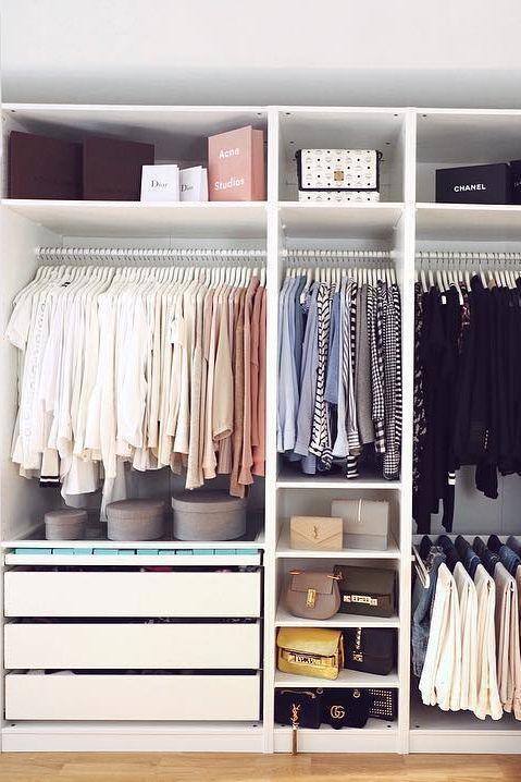 Aprende a organizar un armario capsula o Capsule Wardrobe para cada temporada