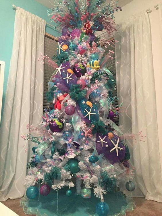 Arboles de navidad 2019 - 2020 color Morado