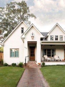 Casas en color blanco para exterior