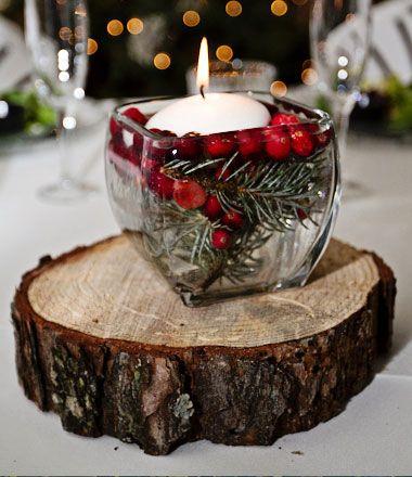 Centro de mesa navideño manualidades sencillos
